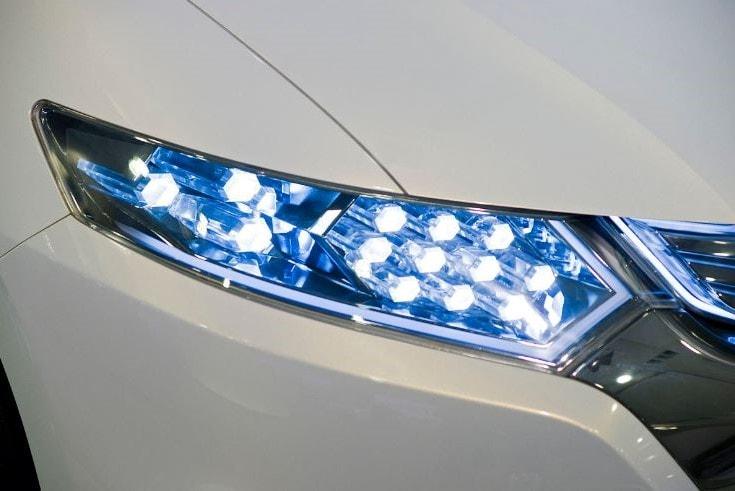 luz led coche