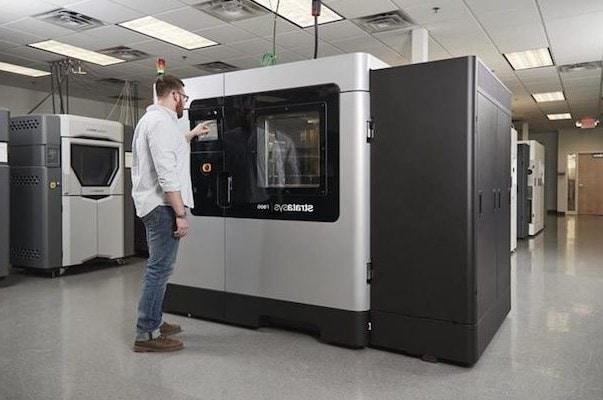 Stratasys lanza la impresora 3D J5